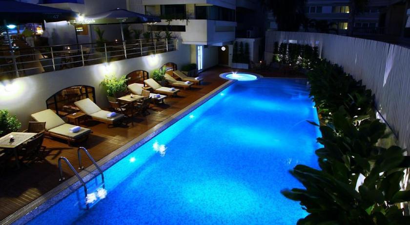 バンコクで8,000円以下で泊まるオススメホテル5選 ホテル マーメイド バンコク(Hotel Mermaid Bangkok)