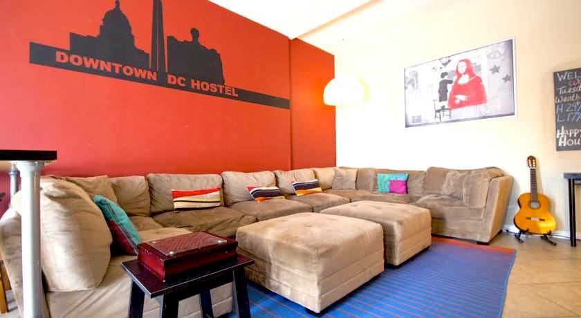 ワシントンD.C. ドミトリー ホステルゲストハウス 人気キレイ清潔安い ダウンタウン