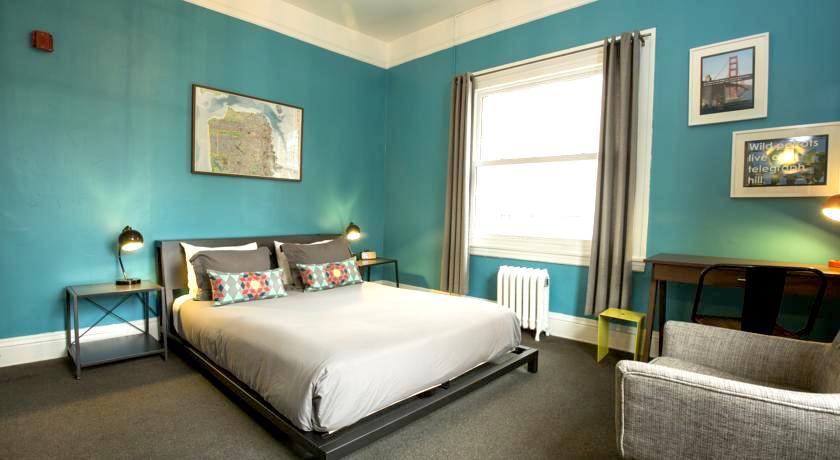 サンフランシスコ 15,000円以下 1万5千円以下 格安ホテル ダブルルームツインルーム シングル オススメ人気清潔キレイ