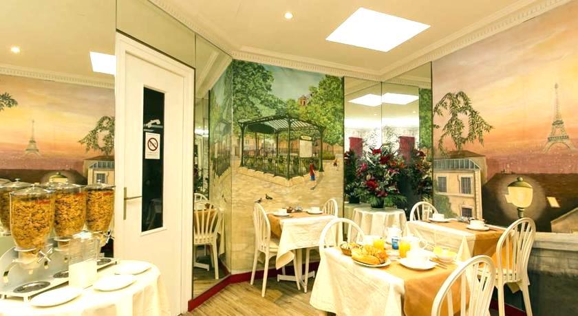 パリ1万円以下 格安ホテル ダブルルームツインルーム シングル オススメ人気清潔キレイ