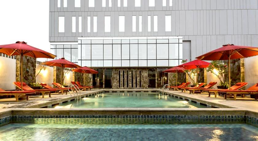 ジャカルタ 1万円以下 格安ホテル ダブルルームツインルーム オススメ人気清潔キレイ