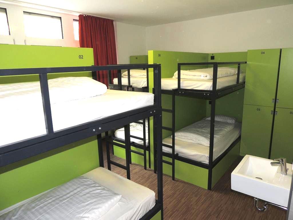 フランクフルト ドミトリー ゲストハウス ホステル バックパッカー 安い人気清潔キレイ