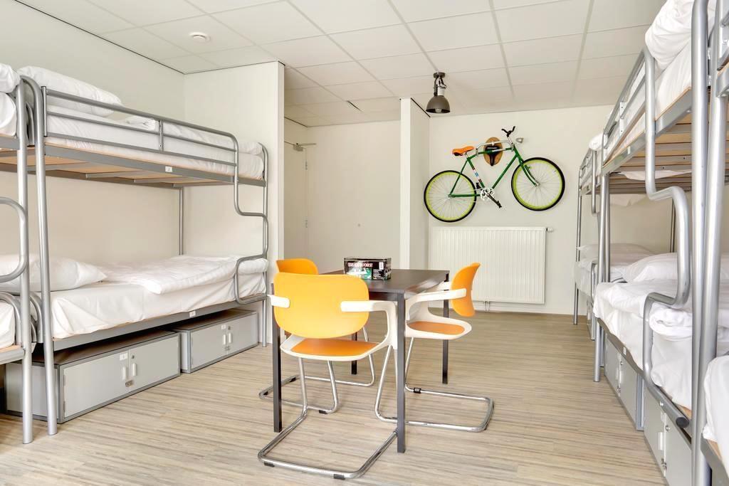 アムステルダム ゲストハウスホステル ドミトリー バックパッカー オススメキレイ人気清潔